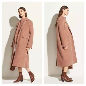 Vince Brushed Wool Maxi Coat